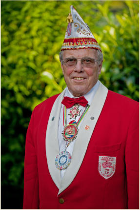 Adolf Erkenrath, Ehrenpräsident